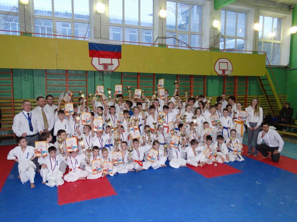 Участники секции «Синкекусинкай карате» - победители!