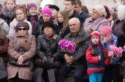 Культурный центр Цигломень Торжественный митинг к 69 годовщине Победы в Великой Отечественной войне 8